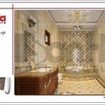 Thiết kế nội thất phòng vệ sinh biệt thự 6 tầng tại Thái Bình sh btp 0080