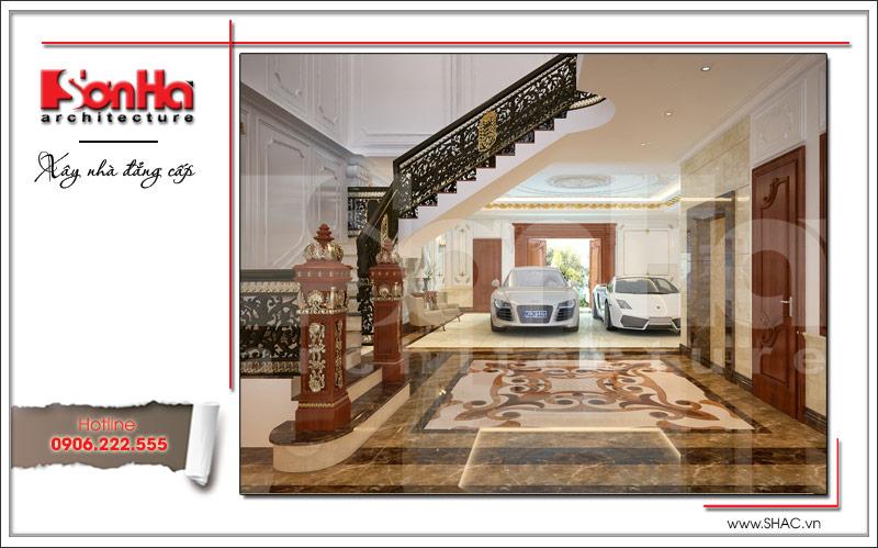 Biệt thự kiểu Pháp cổ điển có mặt tiền 8m tại Thái Bình – SH BTP 0080 17
