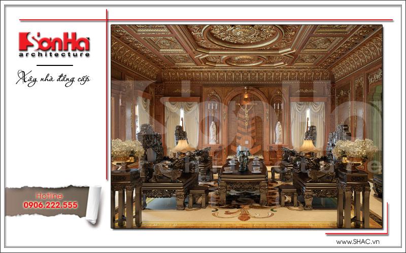 Biệt thự kiểu Pháp cổ điển có mặt tiền 8m tại Thái Bình – SH BTP 0080 5