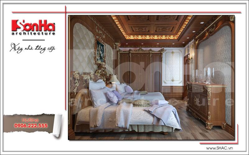 Biệt thự kiểu Pháp cổ điển có mặt tiền 8m tại Thái Bình – SH BTP 0080 8