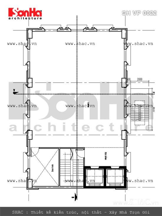 Bản vẽ mặt bằng tầng 8-9-10-11-12-tòa nhà văn phòng sh vp 0022
