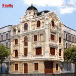 Biệt thự kiến trúc pháp cổ điển sh btp 0079