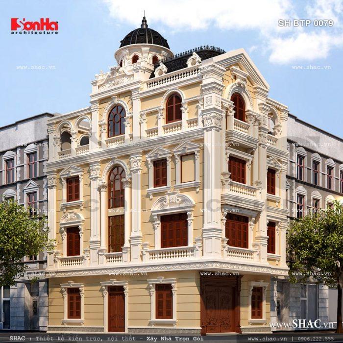 Biệt thự kiểu Pháp cổ điển