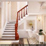 Cầu thang biệt thự đẹp sh btp 0079