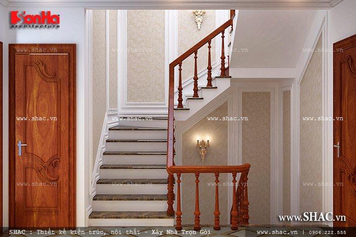Mẫu thiết kế biệt thự với nội thất mang phong cách Pháp - SH BTP 0079 16