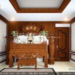 Nội thất phòng thờ truyền thống sh btp 0079