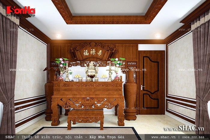 Mẫu thiết kế biệt thự với nội thất mang phong cách Pháp - SH BTP 0079 14