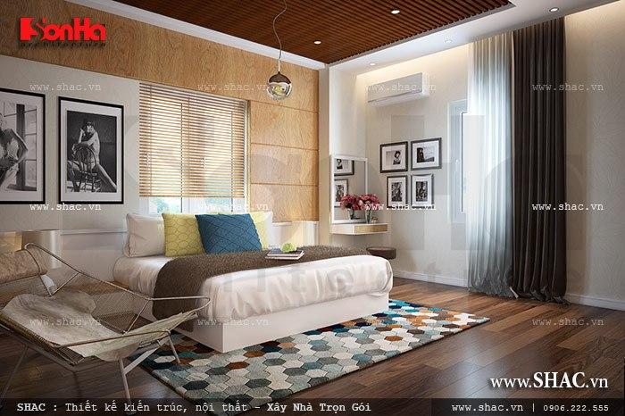 Thiết kế nội thất phòng ngủ hiện đại sh ks 0025