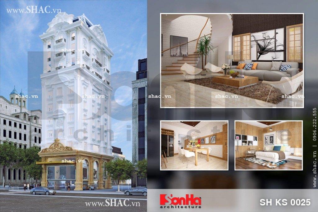 Thiết kế tòa nhà văn phòng và căn hộ sh ks 0025