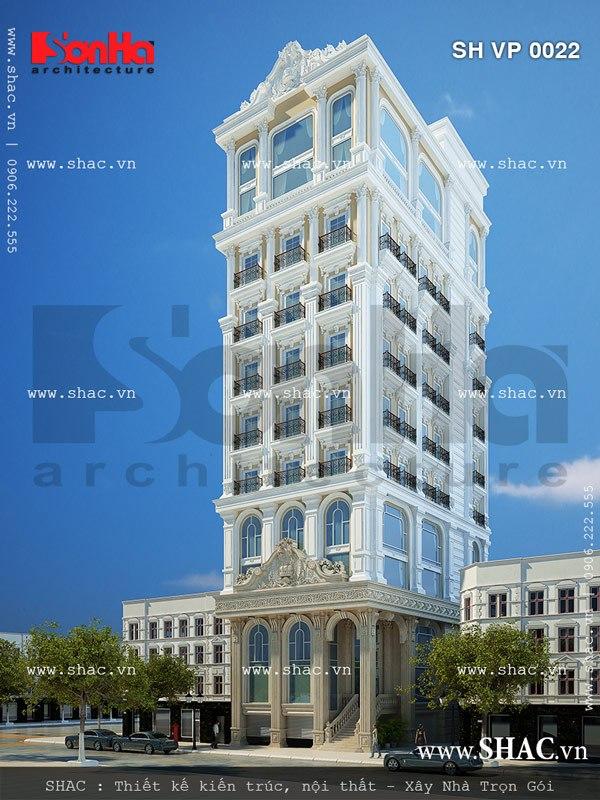 Tòa nhà cho thuê làm văn phòng công ty sh vp 0022