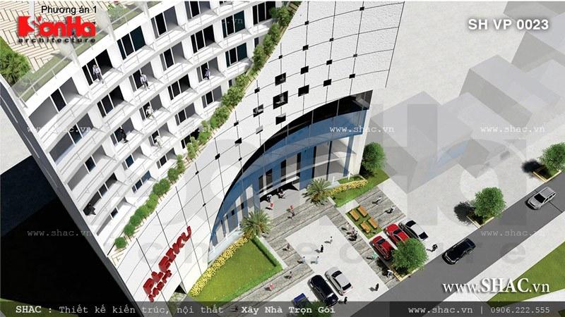 Tòa nhà nhin từ trên cao pa1 sh vp 0023