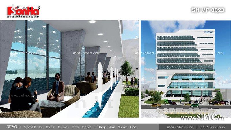 Tòa nhà văn phòng sang trọng tại Pleiku sh vp 0023