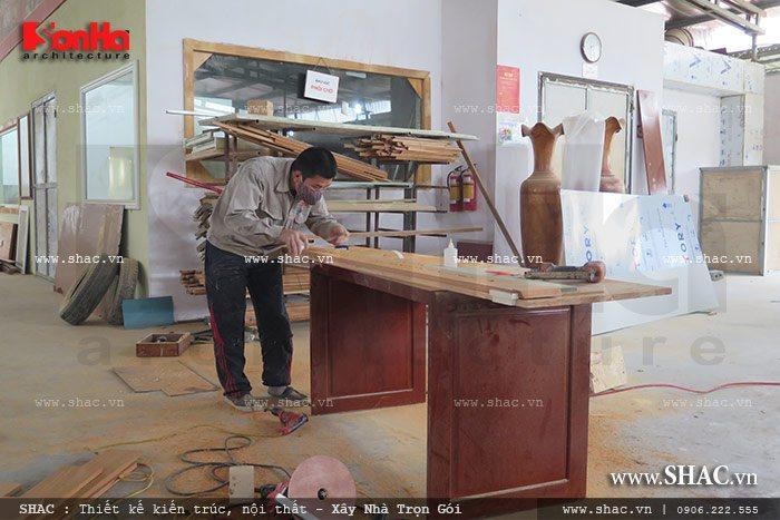 Mời tham gia cổ phần Xưởng sản xuất thi công nội thất gỗ Sơn Hà 11