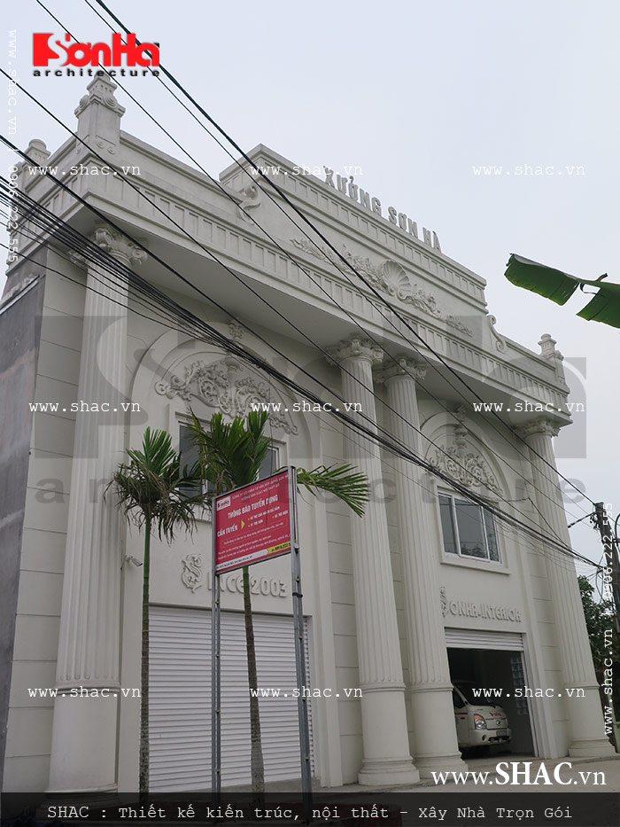 Mời tham gia cổ phần Xưởng sản xuất thi công nội thất gỗ Sơn Hà 2