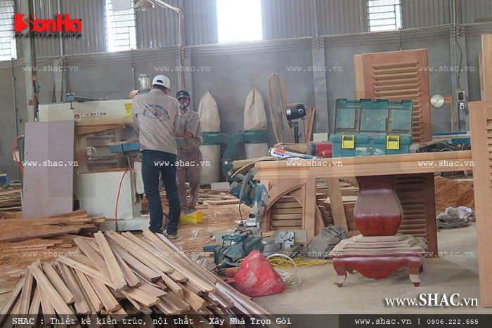 Mời tham gia cổ phần Xưởng sản xuất thi công nội thất gỗ Sơn Hà 10