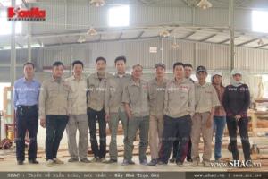 Xưởng nội thất gỗ Sơn Hà SHAC