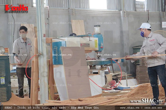Mời tham gia cổ phần Xưởng sản xuất thi công nội thất gỗ Sơn Hà 8