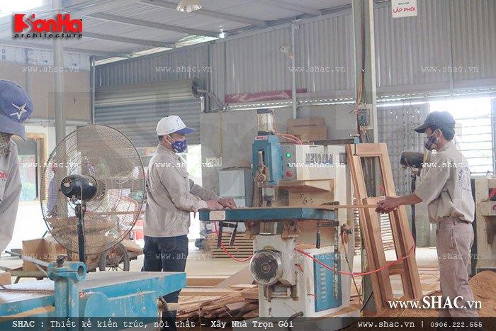 Mời tham gia cổ phần Xưởng sản xuất thi công nội thất gỗ Sơn Hà 7