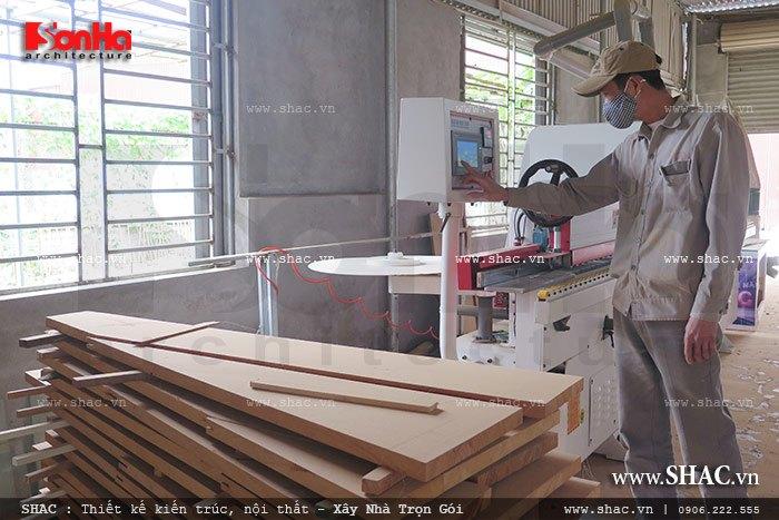 Mời tham gia cổ phần Xưởng sản xuất thi công nội thất gỗ Sơn Hà 6