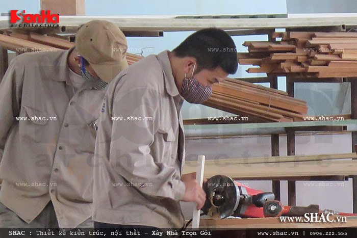 Mời tham gia cổ phần Xưởng sản xuất thi công nội thất gỗ Sơn Hà 5