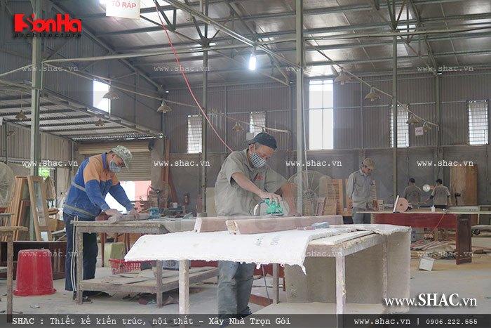Mời tham gia cổ phần Xưởng sản xuất thi công nội thất gỗ Sơn Hà 4