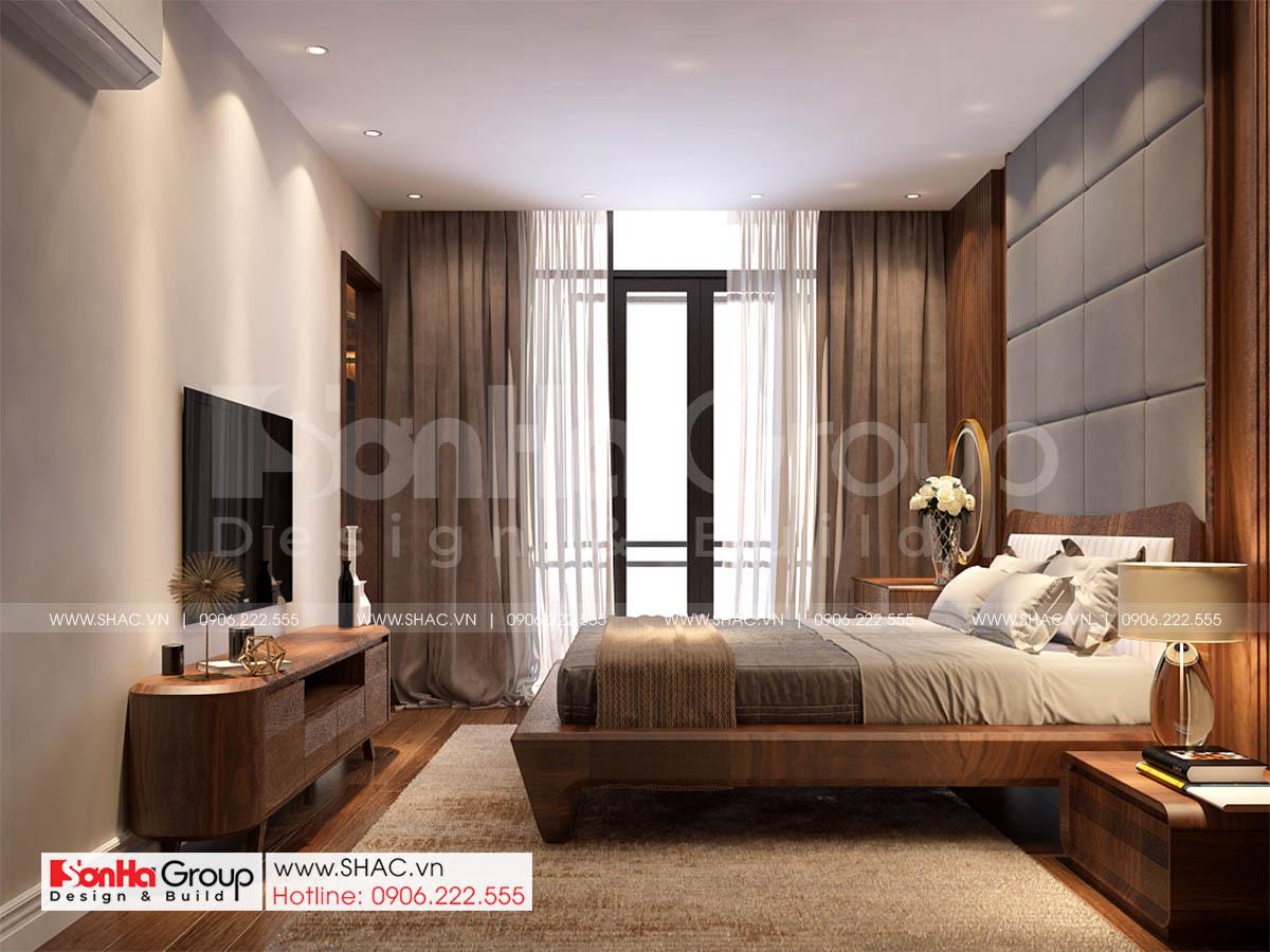 Một góc khác của phòng ngủ sang trọng nhà phố mặt tiền 7m