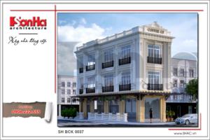 Thiết kế quán café sang trọng mang nhiều phong cách – SH BCK 0037 3