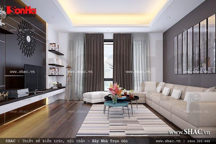Phòng khách yên tĩnh