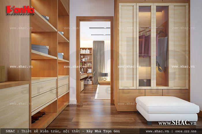 Khu thay đồ phòng ngủ master sh btd 0040