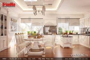 Phòng ăn rộng rãi và sang trọng nt vincom Hà Nội