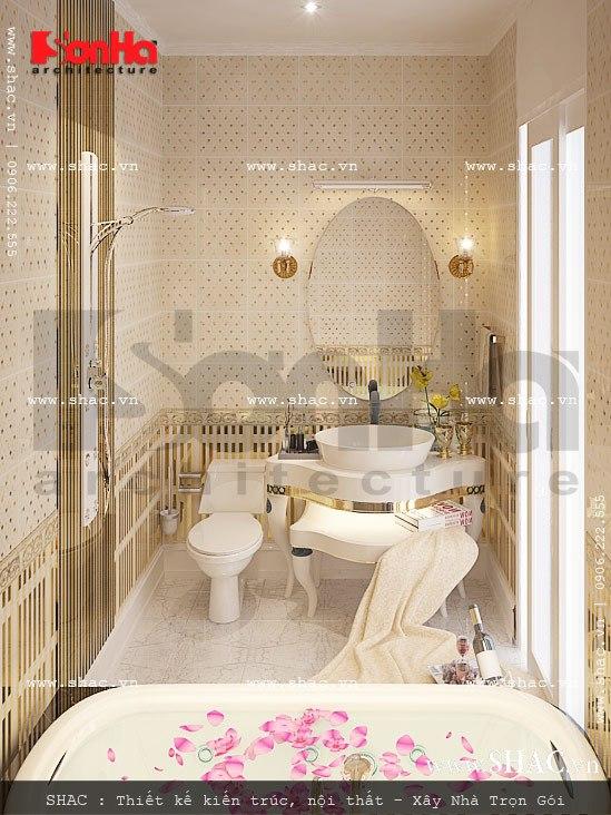 Phòng tắm tuyệt đẹp của căn hộ vincom hp