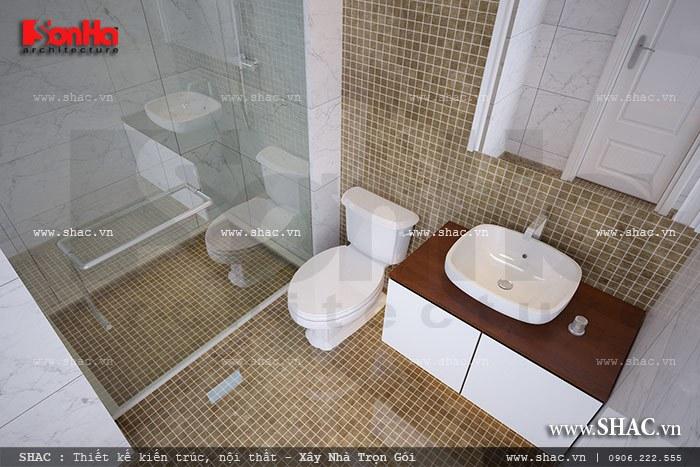 Phòng tắm kết hợp WC