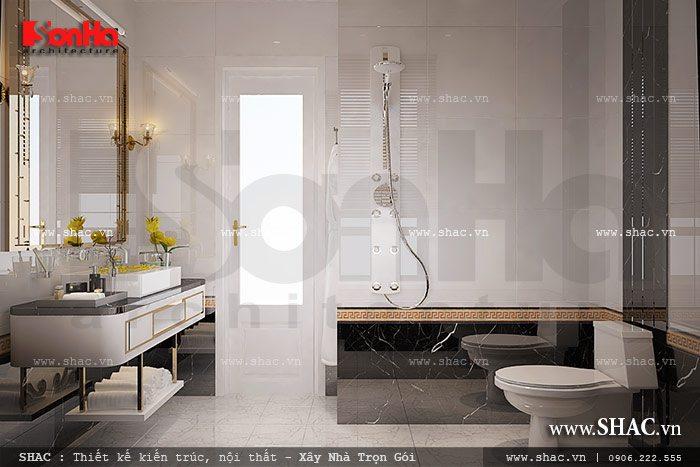 Phòng wc tiện nghi a kiên vincom hp