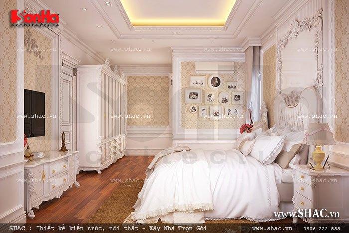 """Không gian phòng ngủ khiến bất kỳ ai cũng có thể bị """"mê hoặc"""" nagy từ ánh nhìn đầu tiên"""