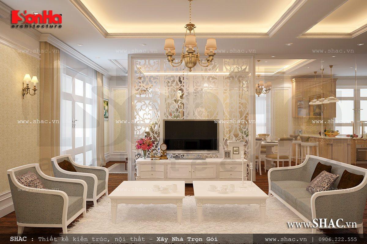 Thiết kế nội thất chung cư Vincom hp