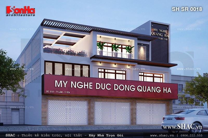 Showroom đồ mỹ nghệ 3 tầng tại Nam Định sh sr 0018
