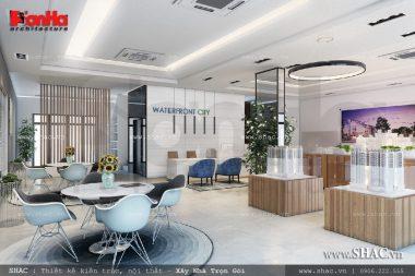 SHAC thiết kế và thi công nội thất water front city Hải Phòng