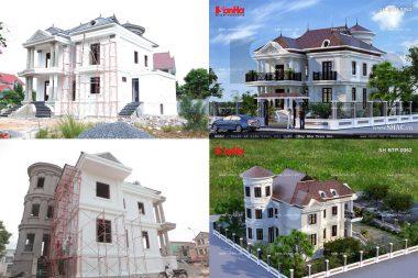 Thực tế công trình SHAC quý 2/2016: Biệt thự cổ điển tại Quảng Bình 3