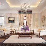 Bộ sofa phòng khách kiểu pháp đẹp sh btp 0082
