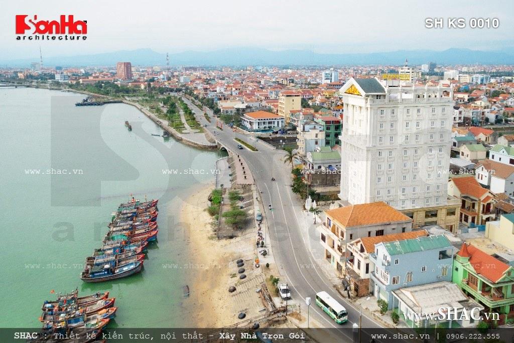 Khách sạn 4 sao hướng ra biển quảng bình tuyệt đẹp sh ks 0010