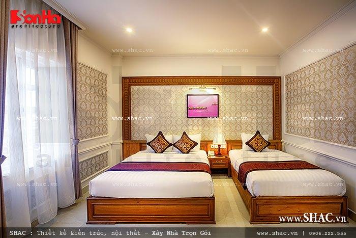 Mẫu phòng ngủ 3 của khách sạn sh ks 0010