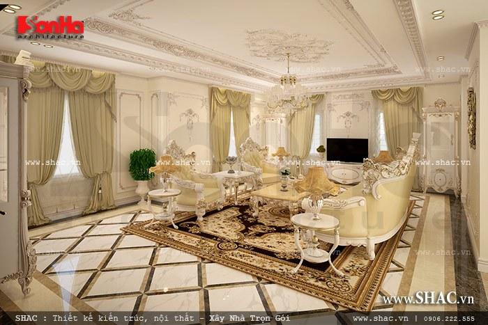 Không gian phòng trà đạo với thiết kế nội thất đẳng cấp khiến bất kỳ ai cũng bị choáng ngợp