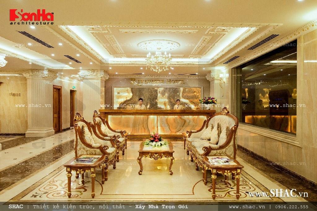 Quầy lễ tân của khách sạn sh ks 0010
