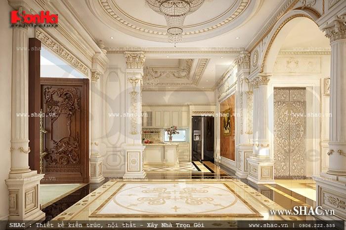 Biệt thự 4 tầng kiến trúc Pháp cổ điển sang trọng – SH BTP 0081 10