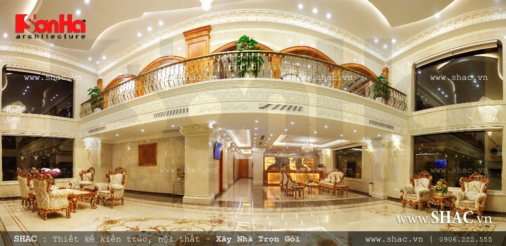 Sảnh chính của khách sạn sang trọng sh ks 0010
