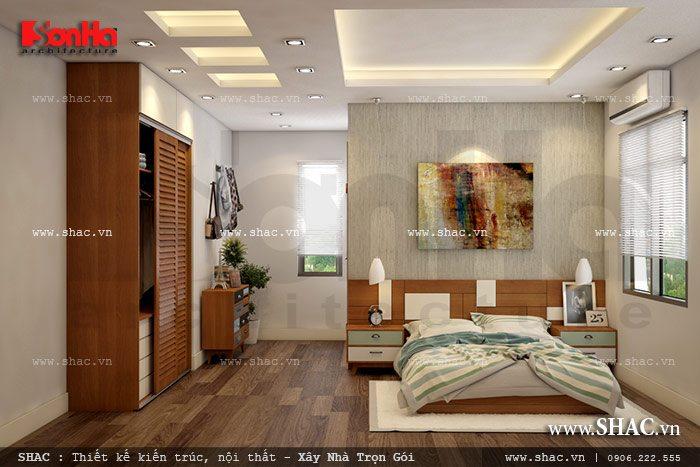 Không gian phòng ngủ rộng và thoáng sh btd 0042