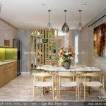 Khu bếp ăn được thiết kế đẹp sh nod 0147