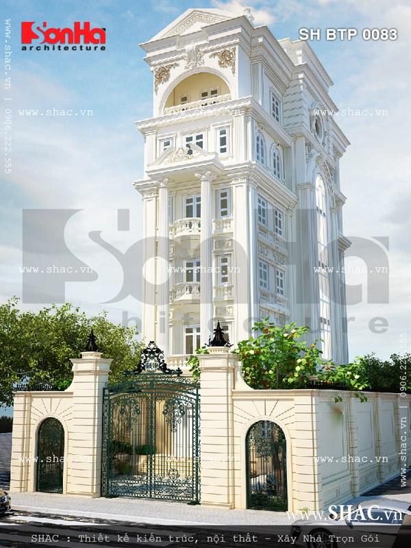 Biệt thự 6 tầng diện tích 120m2 sh btp 0083