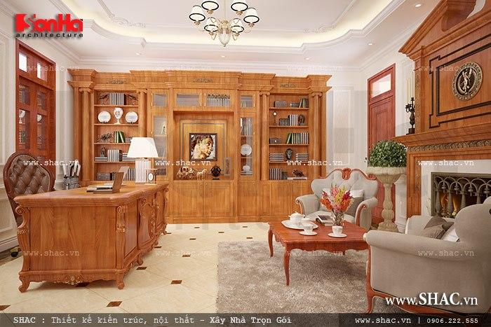 Phòng làm việc đẹp tại nhà sh btp 0078
