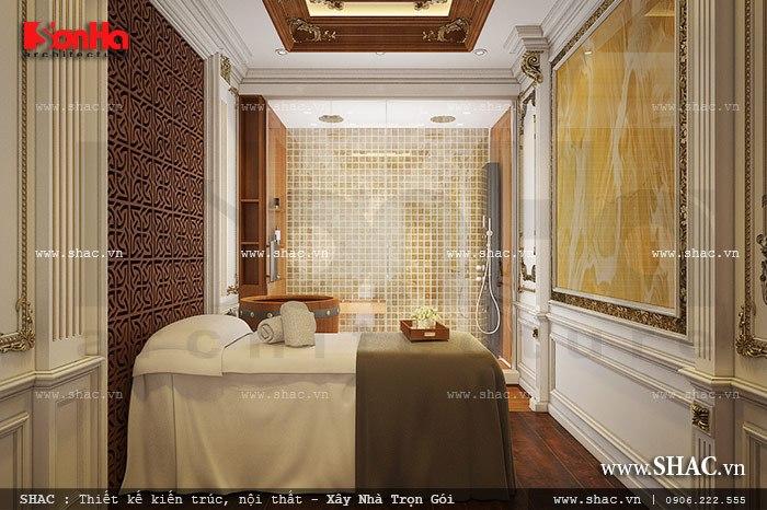 Phương án trang trí nội thất phòng spa phong cách Pháp đẹp và tiện nghi